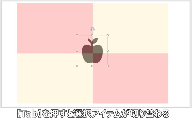 パワーポイントで背面にある図形・テキストを選択できないときの対処法
