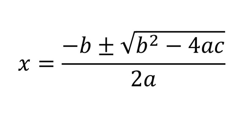 パワーポイントで二次方程式を入力する方法