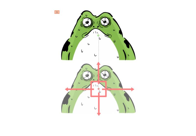 オブジェクトをアニメーションで直線移動させたい