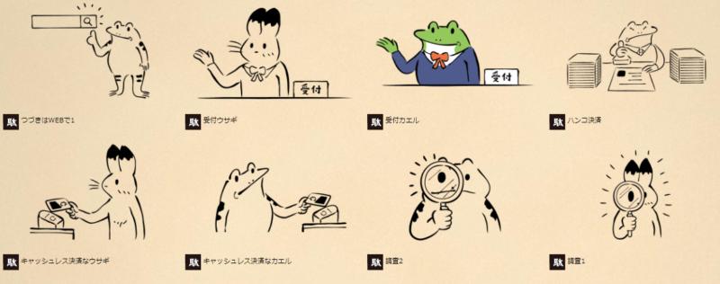ダ鳥獣戯画